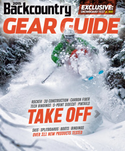 2015 Backcountry Gear Guide Cover