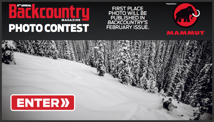 Enter the 2015 Backcountry Photo Contest!