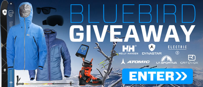 Enter the 2015 Backcountry BLUE BIRD Giveaway!