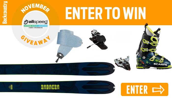 Enter the 2015 Backcountry NOVEMBER Giveaway!