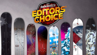 2014 Editors' Choice Awards – Snowboards
