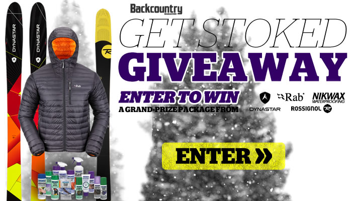 Enter to Win the 2014 Backcountry GET STOKED Givewaway