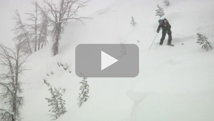 Mountain Skills: Cutting a Cornice