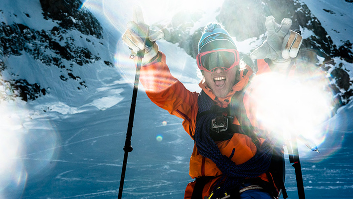 Shadowing Andreas Fransson: Lessons Learned in Chamonix