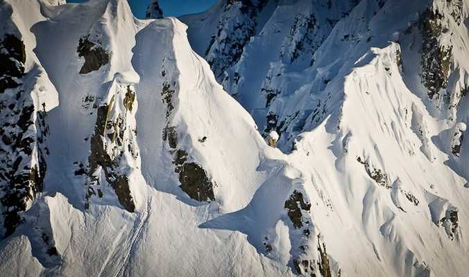 Ian Provo, Tordrillo Mountains, Alaska. [Photo] Noah Howell