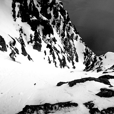 The OG Ocean Couloir . [Photo] Todd Offenbacher