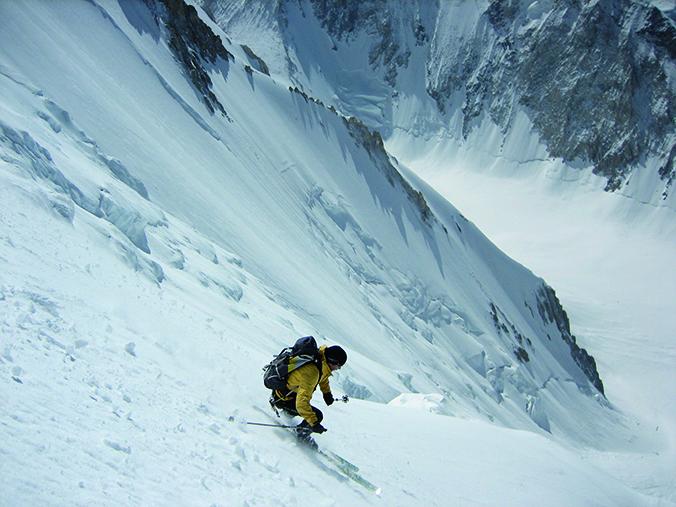 Descent Benedikt Broad Peak