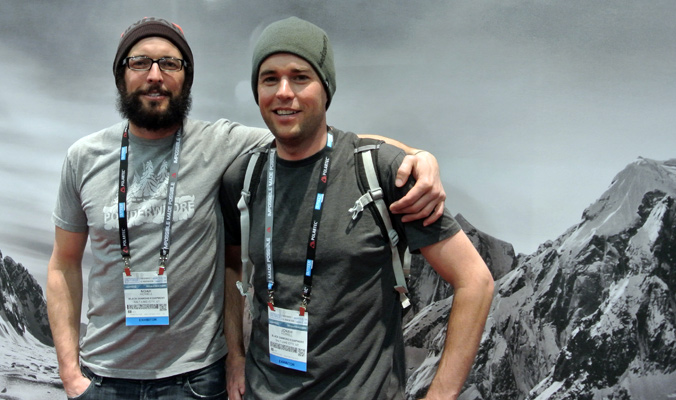 The original Powderwhores: Noah and Jonah Howell. [Photo] Tyler Cohen