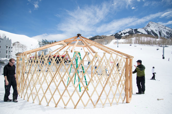 The Yurt: Backcountry's Basecamp