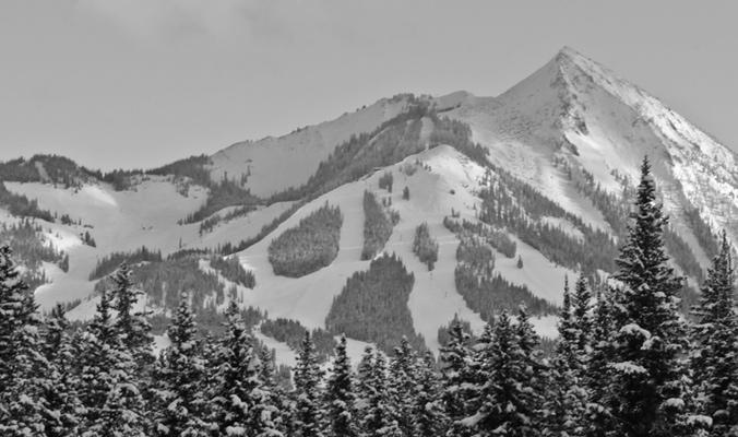 Mount Crested Butte, Colorado.