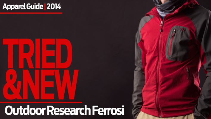 Softer Touch: Outdoor Research Ferrosi Hoody