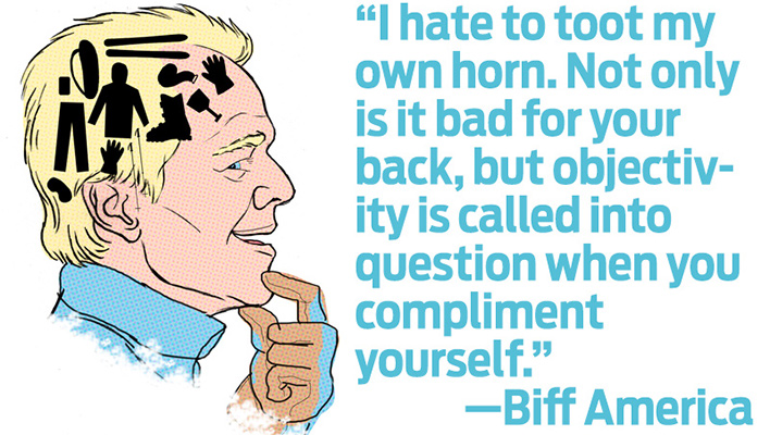 Biff America: On Compliments