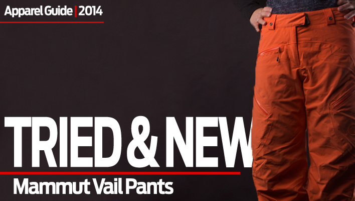 Mom Knows Best: Mammut Vail Pant