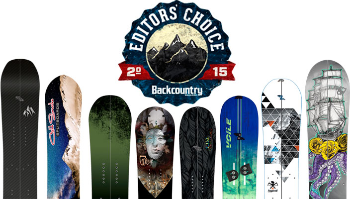 2015 Editors' Choice Awards: Splitboards