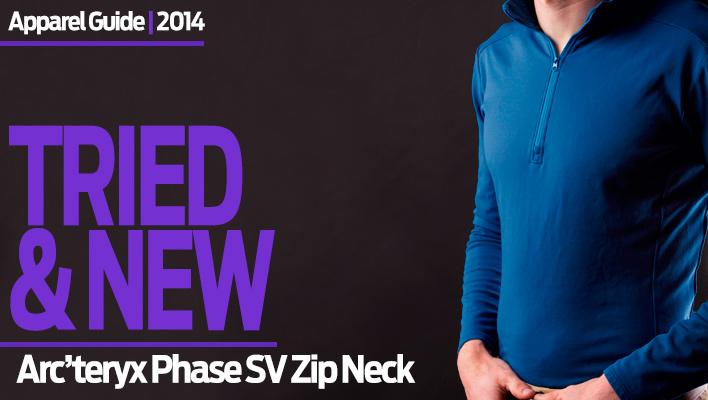 Ace of Base(layers): Arc'teryx Phase SV Zip Neck