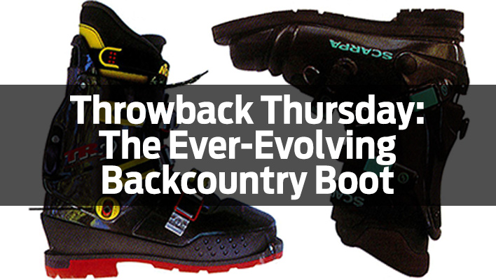Throwback Thursday:  The Ever-Evolving Backcountry Boot