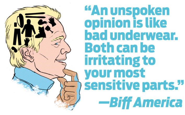 Biff America: On Underwear