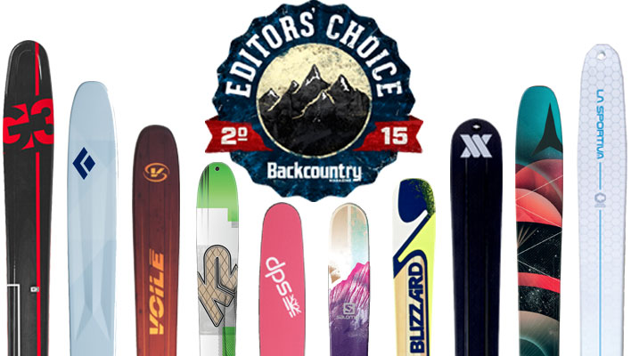 2015 Editors' Choice Awards: Skis