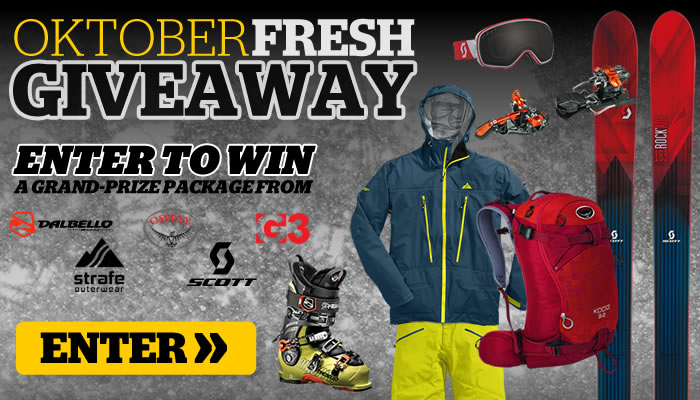 Enter to Win the 2014 Backcountry OktoberFRESH Givewaway
