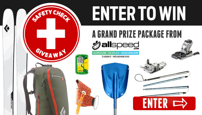 Enter to Win the 2014 Backcountry SAFETY CHECK Givewaway