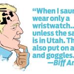 Biff America: On Sauna Etiquette