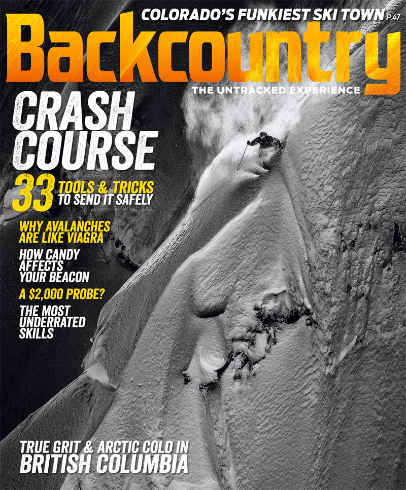Backcountry Magazine's January Issue