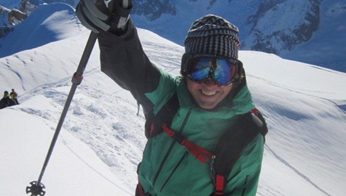 """American Dave"" Rosenbarger killed by Mont Blanc Avalanche"