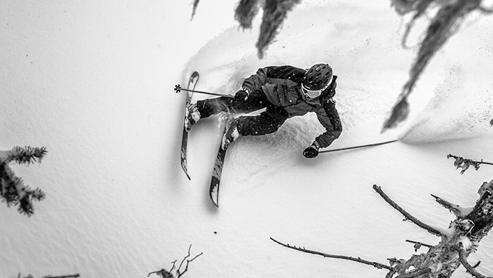Photo of the Day: Carving Through the Conifers