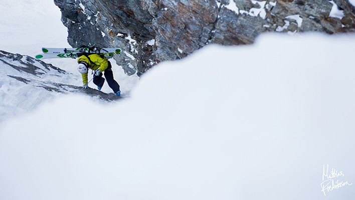Photo of the Day: The Hard Way Down