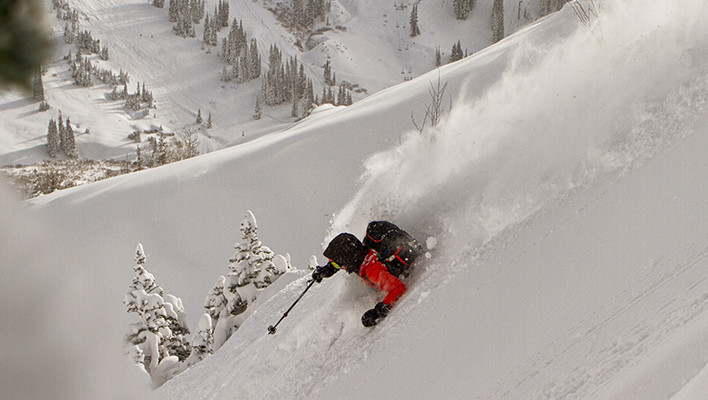 Photo of the Day: Off-Piste Powder