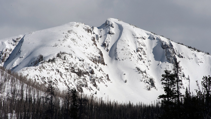 The northwest face of Top Notch Peak. [Photo] Chris Kerr