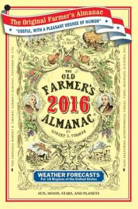 2016 Old Farmer's Almanac