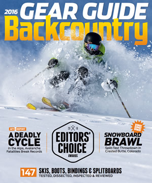 Backcountry Magazine's February Issue