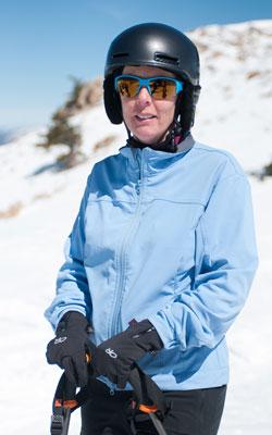 Christine Raymond | 5 ft. 2 in. | 125 lbs. | Bridger Bowl, Mont.