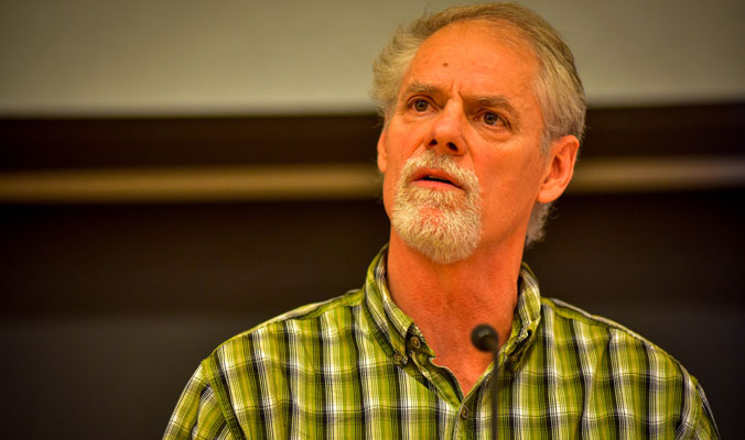 Nick Bond, Washington State Climatologist, says El Niño won't be all that bad for El Pacific Northwest. [Photo] Rick Meade, NWAC