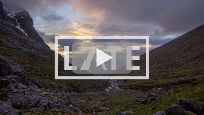 Highlander Sendgame: Scottish skiers release Late, a film about Highlands ski lines