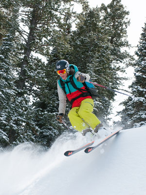 Mindy Mulliken   5 ft. 5 in.   Steamboat Springs, Colo.