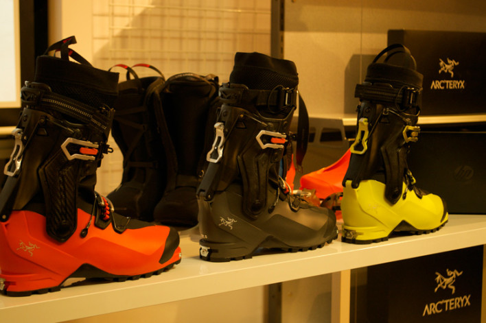 Arc'teryx Forays into Hardgoods with AT Boot