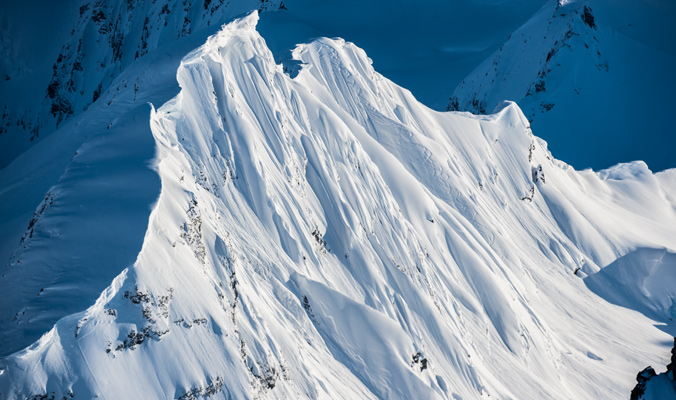Signs of lines past. | Valdez, Alaska | Photo: Blake Jorgenson