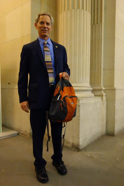 Mayor Ralph Becker at COP21. | Paris, France | [Photo]