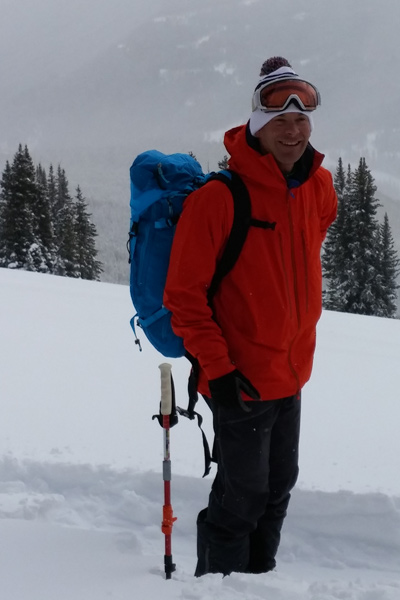 Donny Roth on a guided trip in Crested Butte, Colorado. [Photo] Louise Lintilhac