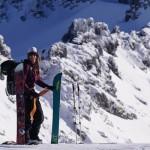 Boardroom: an interview with Christine Feleki, aspiring female splitboard guide