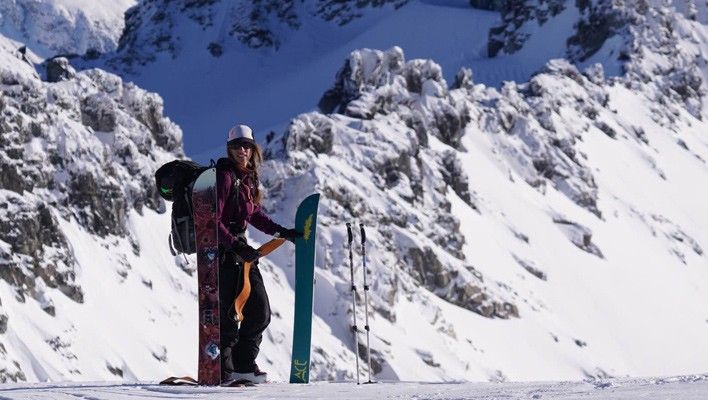 Boardroom: an interview with Christine Feleki, aspiring female splitboard guide