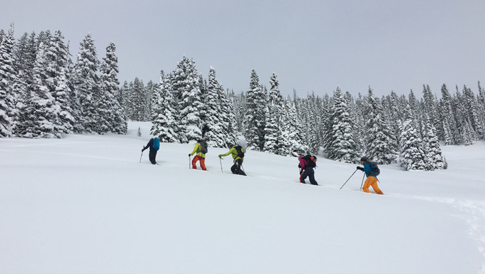 Skiing on a high avy danger day