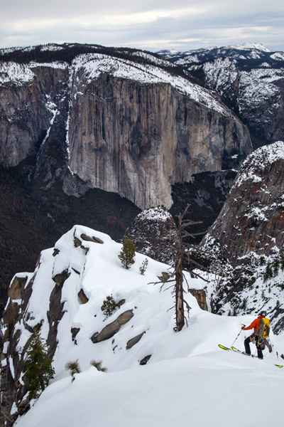 """""""We have been looking at these projects for years,""""—Eric Rasmussen on attempting ski descents with partner Jason Torlano in Yosemite"""