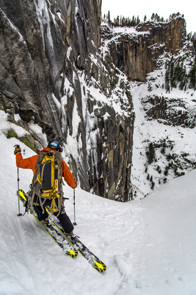 """""""You couldn't fall. It was pure ice. So I was like, 'We will just take this one step at a time and do one turn at a time.'""""-Eric Rasmussen [Photo] Eric Rasmussen"""