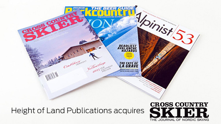 Height of Land Publications to acquire Cross Country Skier Magazine