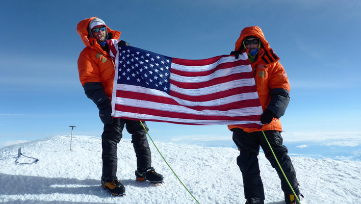 Mission Memorial Day 2016: Josh Jespersen summits Denali to remember fallen vets