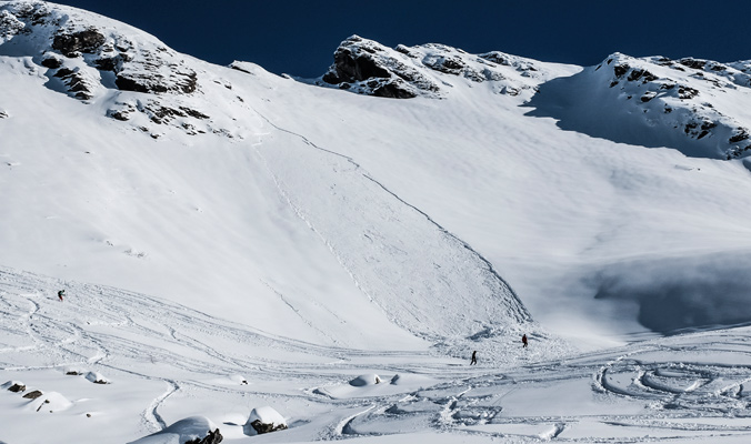While there has been a rise in backcountry use, there has also been a rise in avalanche awareness. [Photo] Kaleb W