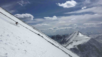Summer Solitare: Aaron Rice talks solo skiing on his path to 2.5 million vertical feet in 2016